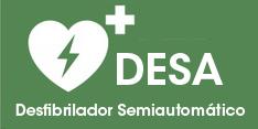 cardioprotección DESA desfibrilador semiautomático